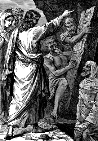 Jesus Raising Lazarus