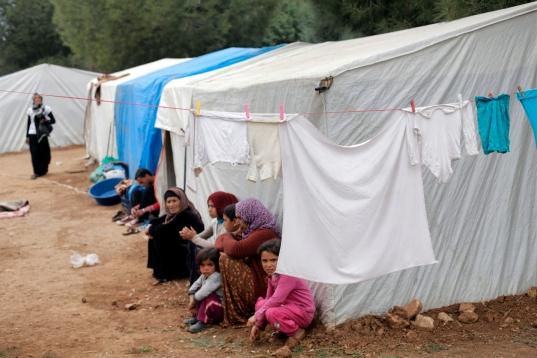 Syrian refugee camp in Turkey