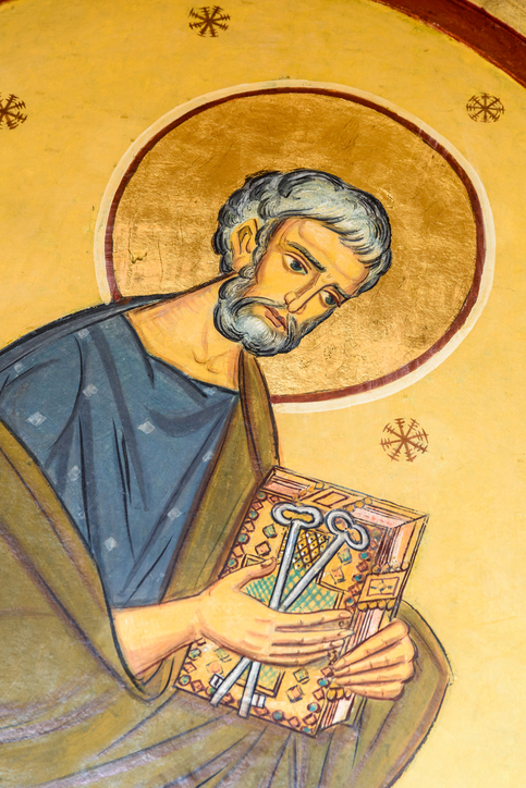 Saint Peter Painting