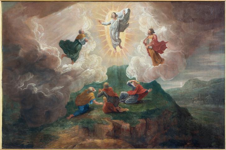 Bruges - Transfiguration of the Lord  in st. Jacobs church